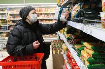Коронавирус через продукты