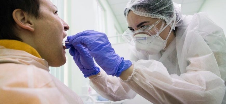 Как сдать мазок на коронавирус