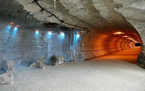 Соляная пещера естественная и искусственная